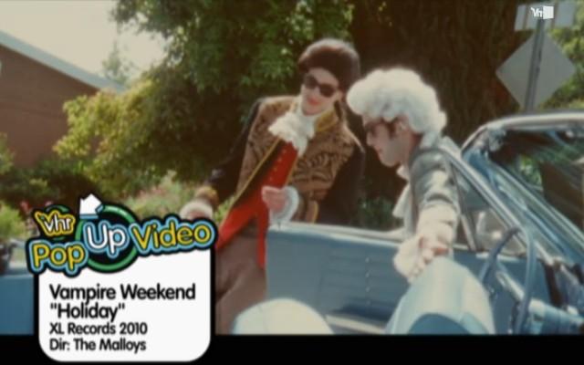 Vampire Weekend Pop-Up Video