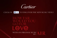 Watch Air's 'Painted Love' Cartier Film