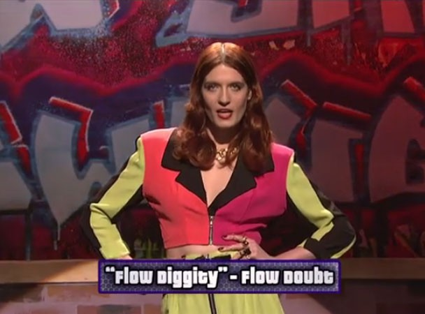 Florence Welch as Flow Doubt on SNL 11/19/11