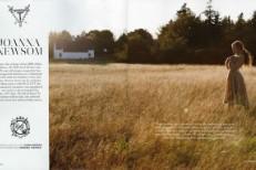 Joanna Newsom Wears Fancy Clothes In Magazine