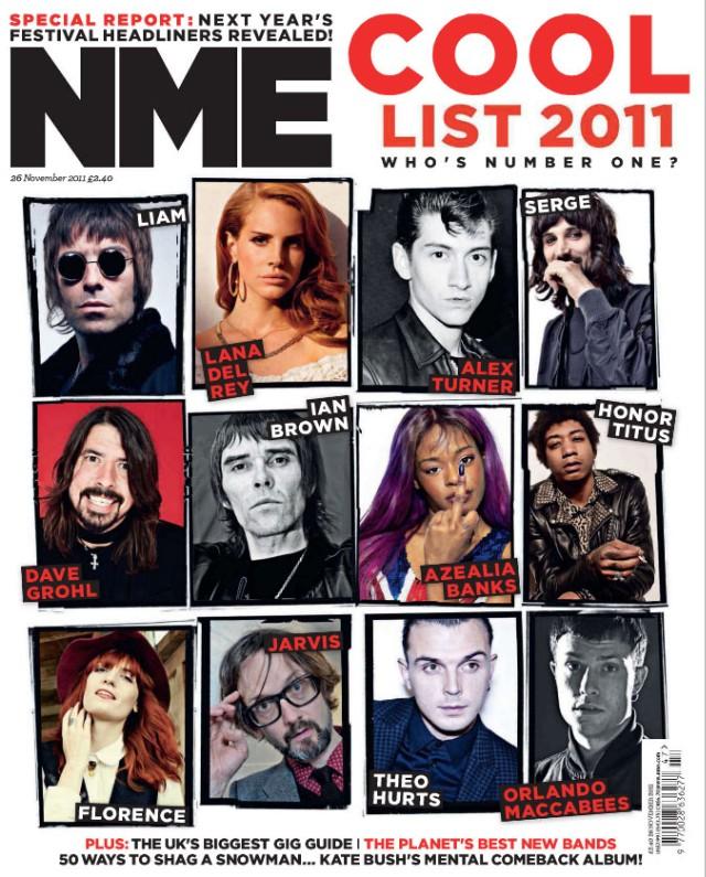 NME 2011 Cool List