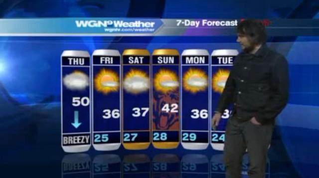 Jeff Tweedy doing weather