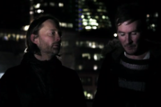 Thom Yorke, 3D Discuss Occupy London