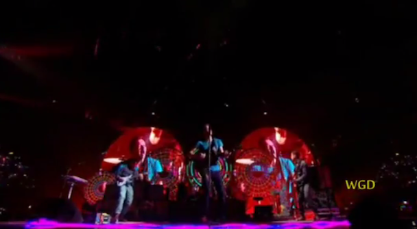 Coldplay Play 'X Factor' Finale