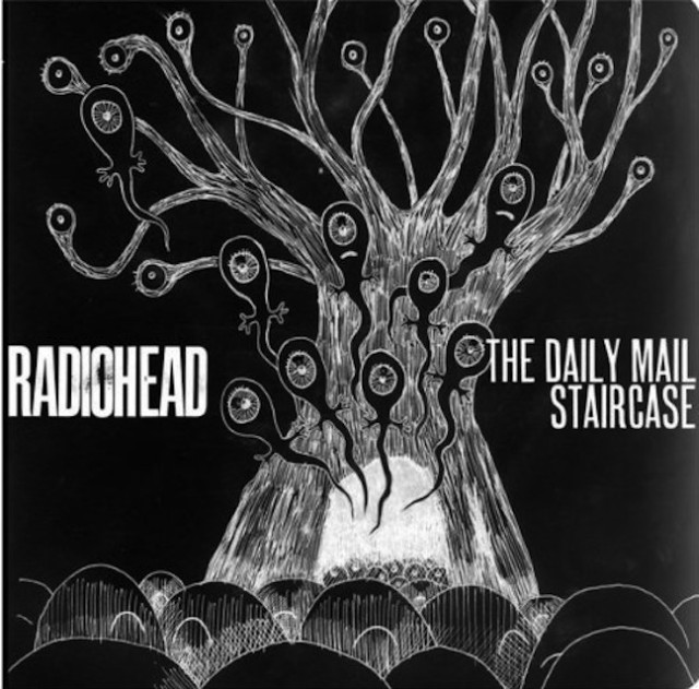 Radiohead - The Daily Mail b/w Staircase