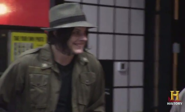 Jack White on American Pickers