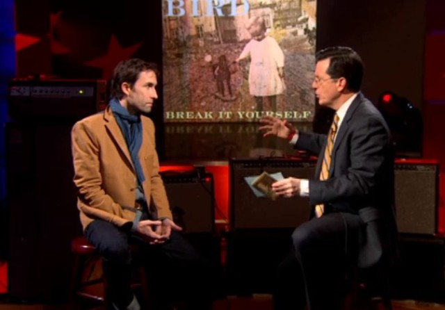 Andrew Bird on Colbert
