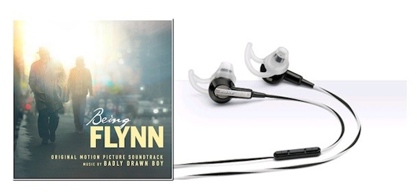 Win Bose Earbud Headphones & 'Being Flynn' Soundtrack & Book