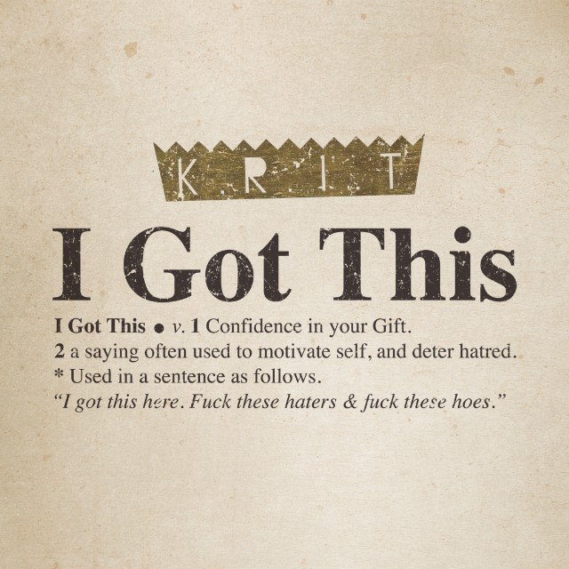 "Big K.R.I.T. - ""I Got This"""