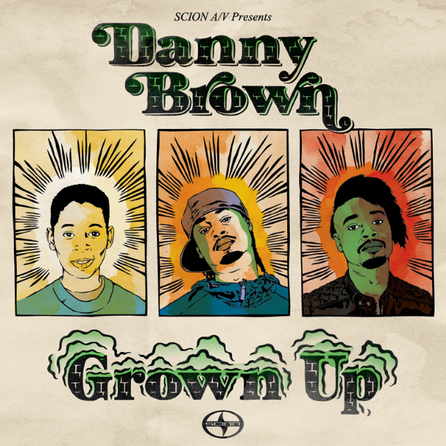 Danny Brown - Grown Up