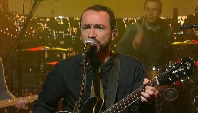 The Shins on Letterman