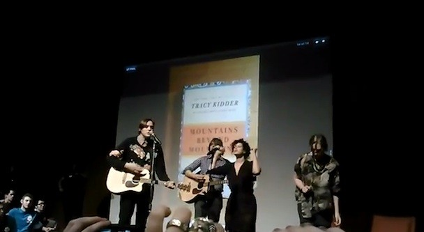 Arcade Fire Lecture, Perform At University Of Texas