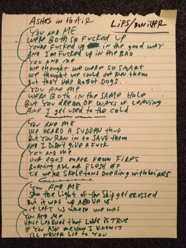 """The Flaming Lips & Bon Iver – """"Ashes In The Air"""" - Stereogum"""
