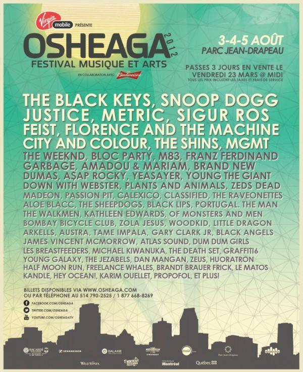 Osheaga 2012