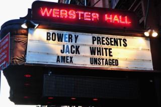 Watch Jack White&#8217;s AMEX <em>Unstaged</em> Show