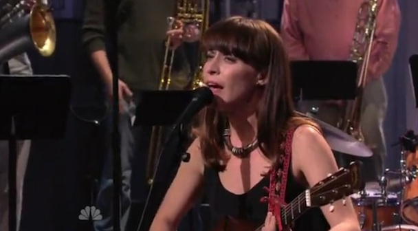 Watch Feist Play 'Leno'
