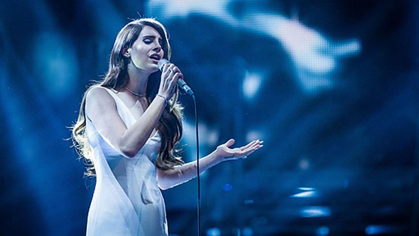 Lana Del Rey on The Voice UK