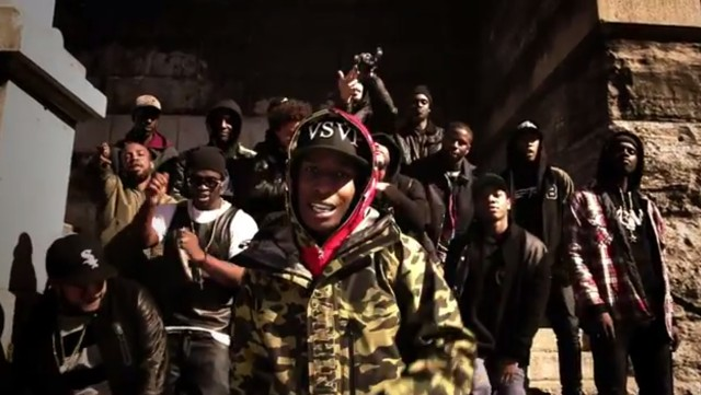 "ASAP Rocky - ""Goldie"" Video"