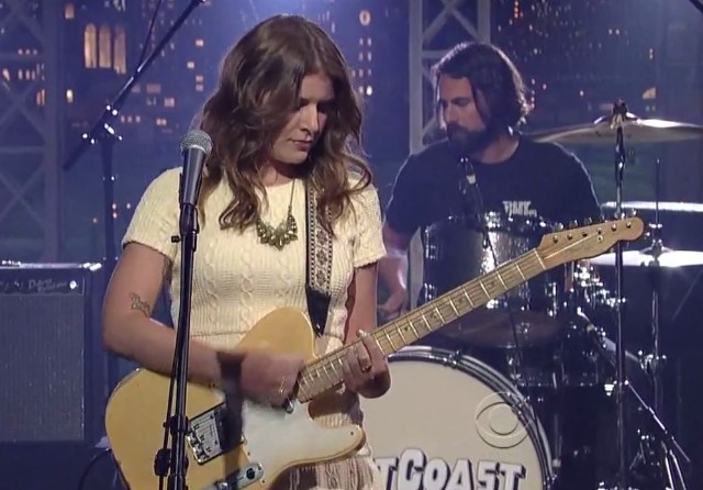Best Coast on Letterman