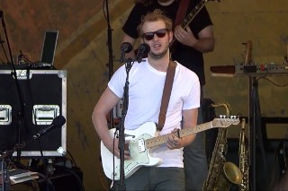 "Watch Bon Iver Perform ""Michicant,"" ""Towers"" At Jazz Fest 2012"
