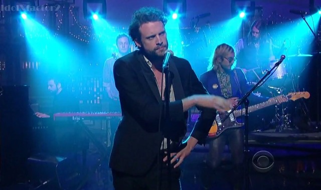 Father John Misty on Letterman