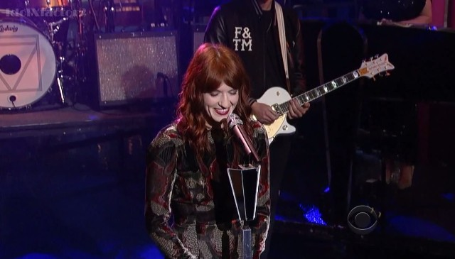 Florence And The Machine on Letterman