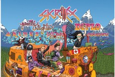 Skrillex, Diplo, & Grimes Touring Canada By Train