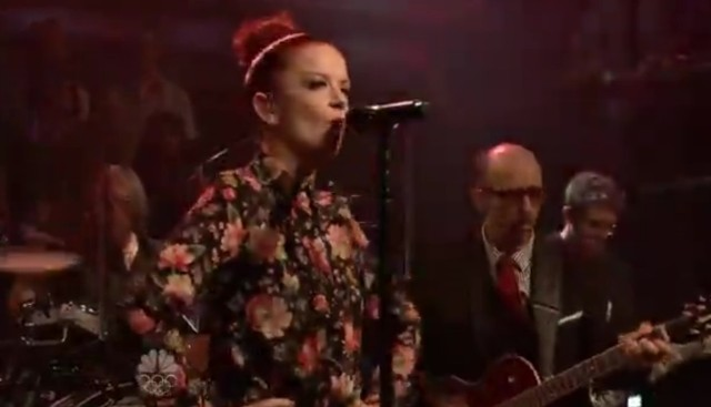 Garbage on Fallon