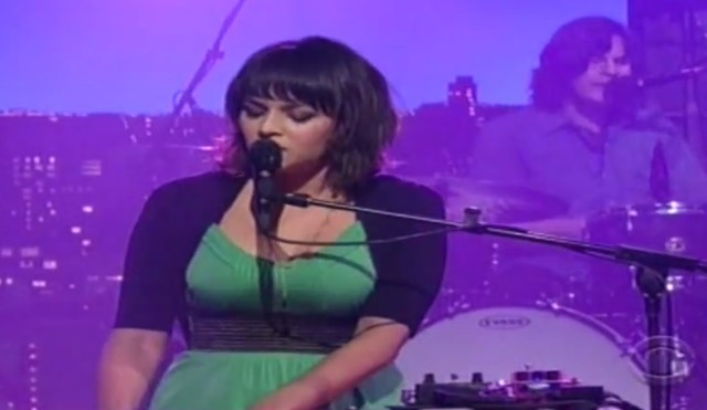 Norah Jones on Letterman