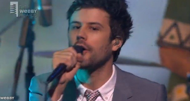 Passion Pit at the Webbys