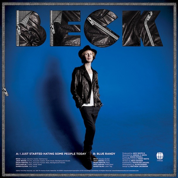beck third man single
