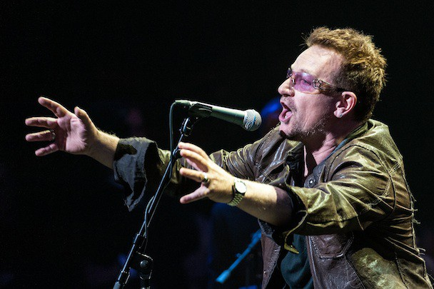 Bono Now World's Richest Musician