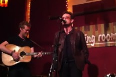 Watch Bono Join Glen Hansard At NYC's The Living Room