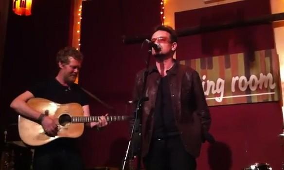 Watch Bono Join Glen Hansard At Nycs The Living Room Stereogum