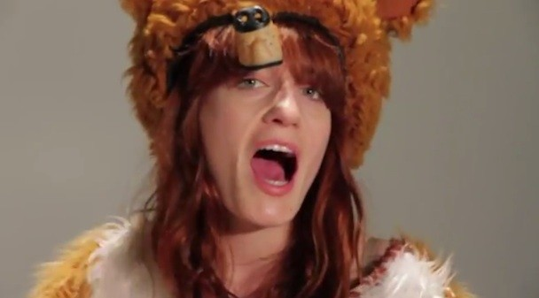 Watch Florence + The Machine Cover Talking Heads In Animal Costumes