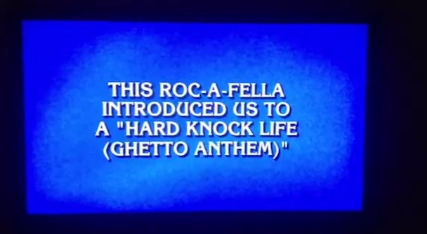 Jay-Z Jeopardy! Fail