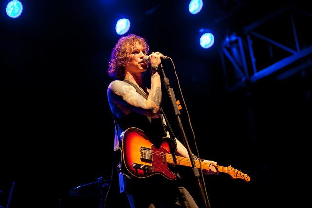 Against Me!'s Laura Jane Grace 2012