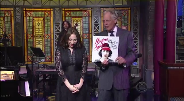 Watch Regina Spektor On 'Letterman'
