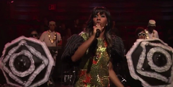Santigold On Fallon