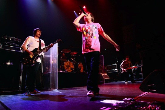 Watch Stone Roses Reunite In England