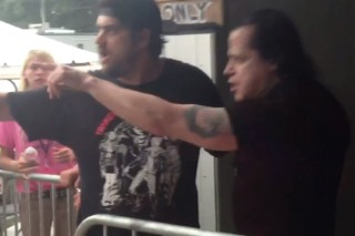 Danzig Tries To Fight Photog At Bonnaroo
