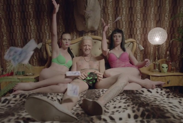 "Die Antwoord - ""Baby's On Fire"" Video"