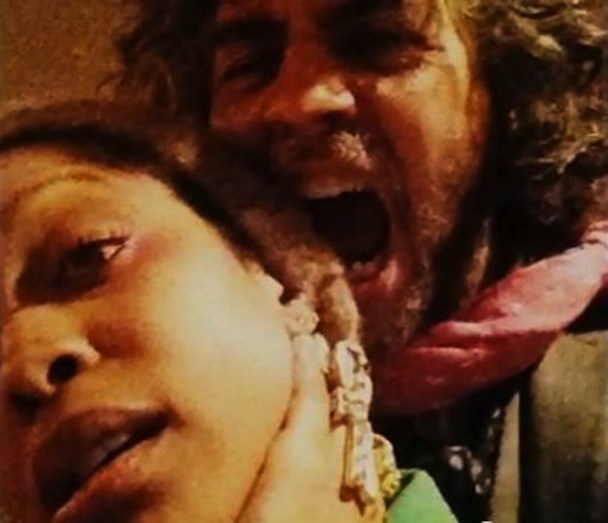 Erykah Badu and Wayne Coyne