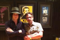 Jack White and Marc Maron