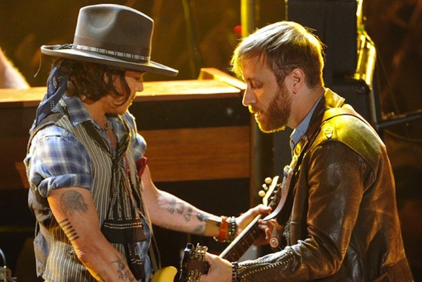 Watch Johnny Depp Join The Black Keys At The 2012 MTV Movie Awards
