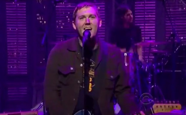 The Gaslight Anthem on Letterman