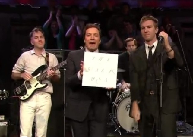 The Walkmen on Fallon