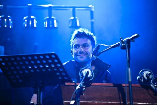 Watch Damon Albarn Debut New Blur Tune At Poetry Olympics