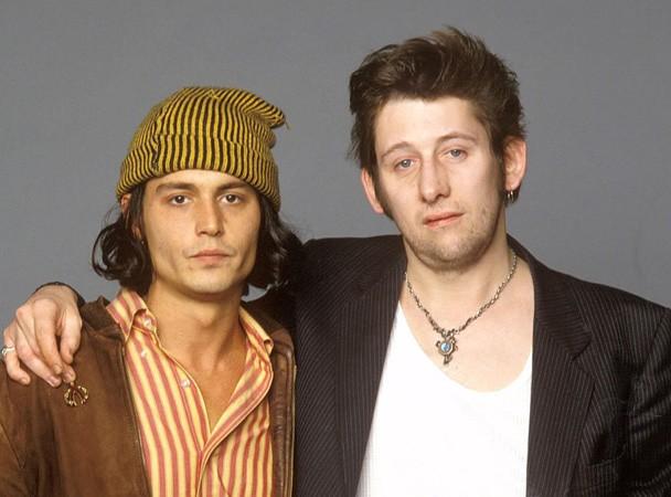 Johnny Depp & Shane MacGowan