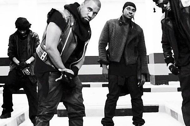 "Kanye West - ""Mercy"" Video (Feat. Big Sean, Pusha T & 2 Chainz)"